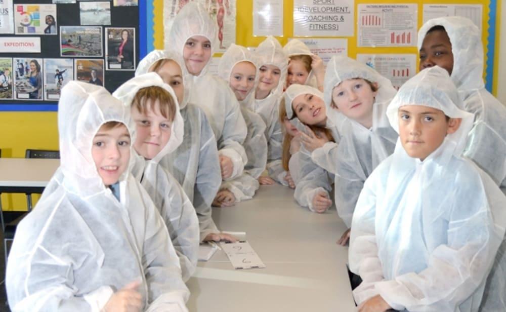 Blundeston Primary School CSI Day