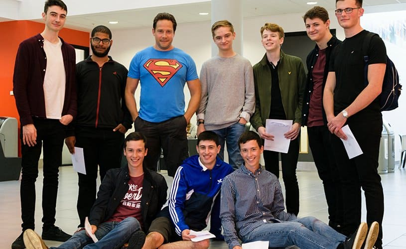 A-Level Results Day 2017