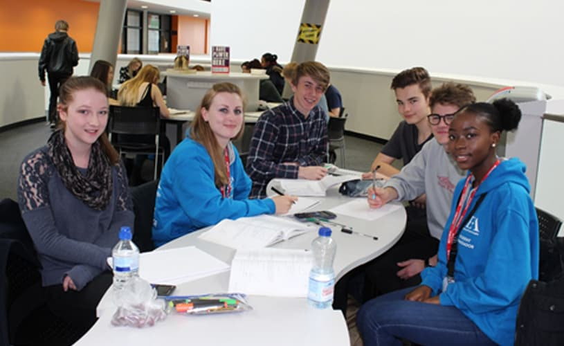 UEA Students Mentor Mathematics