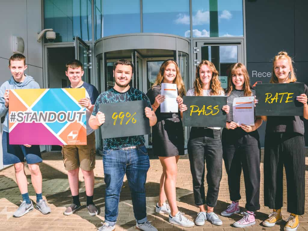 Students STANDOUT with their A Level Success!