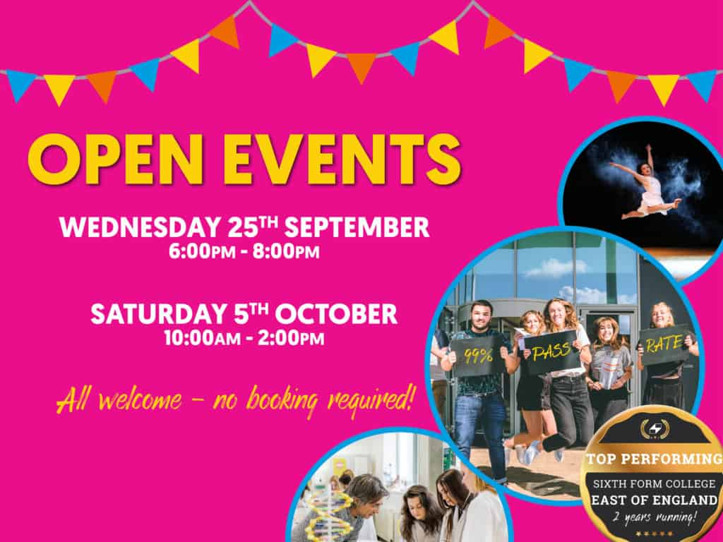 #STANDOUT OPEN EVENTS!