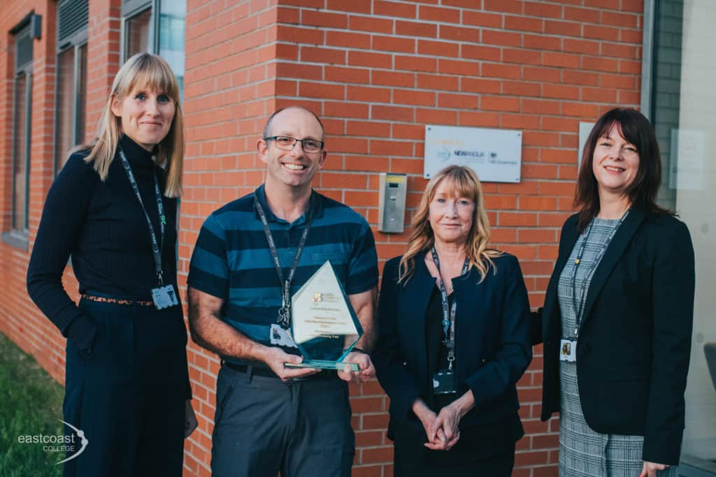 East Coast College wins multiple awards, both recognising its continued development
